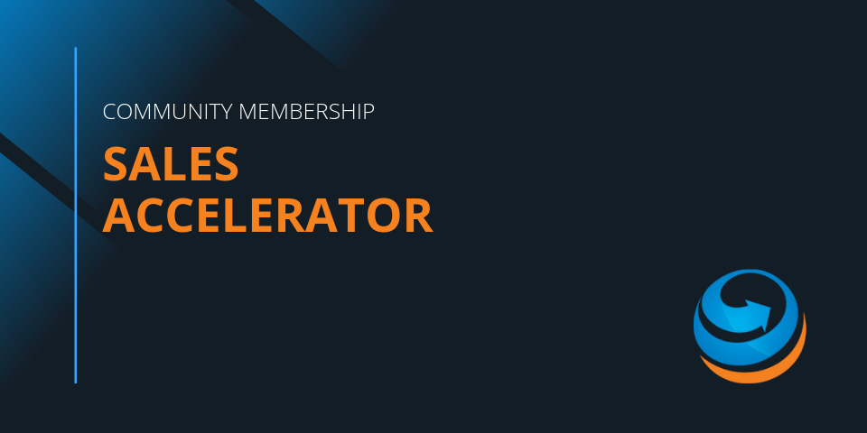 Sales Accelerator Community Membership by CMS360. Get Investor Ready.